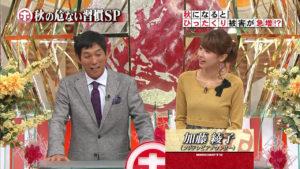 ホンマでっか!に出演している加藤綾子