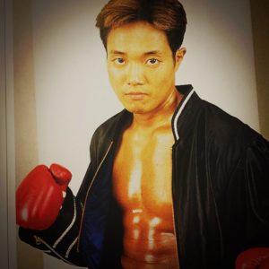 森谷吉博の昔の写真
